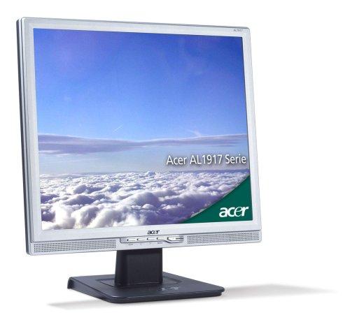 Acer AL1917J 48,3 cm (19 Zoll) TFT Monitor (Kontrastverhältnis 1.000:1, 5ms Reaktionszeit) mit DVI