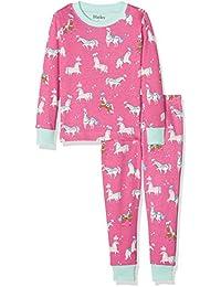 Hatley Organic Cotton Long Sleeve Printed Pyjama Sets, Conjuntos de Pijama para Niños