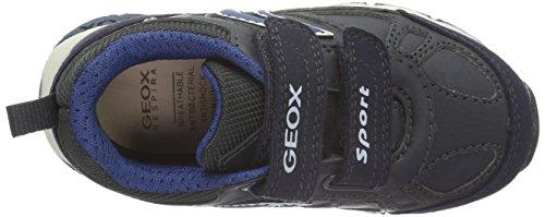 Geox J Bernie A Jungen Low-Top Blau (NAVY/BLUEC4264)