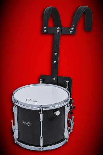 Marching Snare Drum / Fan Trommel / Kleine Trommel mit Tragegestell