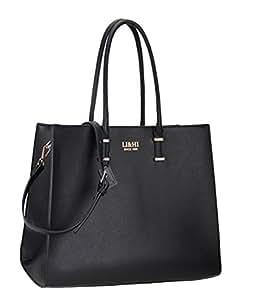 li hi elegant handtaschen damen handtasche schwarz handtasche schule shopper damen gro schwarz. Black Bedroom Furniture Sets. Home Design Ideas