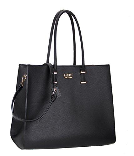 lihi-damen-elegant-pu-leder-handtasche-umhangetasche-shopper-tragetasche-schwarz-36x28x16-cm-b-h-t
