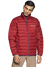 Columbia Lake 22 Down Anorak, Hombre, Rojo (Red Element), XXL