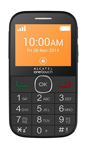Alcatel Onetouch 2004G-2AALDE1 Smartphone (Android) schwarz
