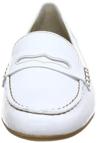 Hassia Capri, Weite J 5-302344-02000, Mocassini donna Bianco (Weiß (weiß 0200))
