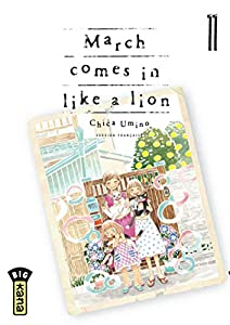 March comes in like a lion Edition simple Tome 11