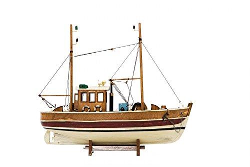 Barca peschereccio barca di legno modello barca nave modello di nave
