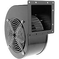 PrimeMatik - Extractor de Aire centrífugo Radial para ventilación Industrial 2600 RPM Cuadrado 202x175x124 mm