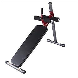 DMMW-Sports Banc Assis Supine Board Sit-up Fitness Equipment Home Abdomen Multi-Fonction Muscles abdominaux Haltère Banc Fitness Chaise Romaine Machine De Formation D'intérieur