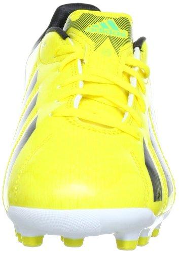 Adidas F10 TRX AG, Chaussure de football homme Jaune - Gelb (VIVID YELLOW S13 / BLACK 1 / GREEN ZEST S13)