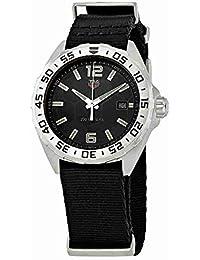 FC8198 - Reloj de Pulsera para Hombre, Esfera Negra