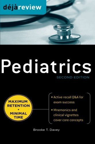 Deja Review Pediatrics, 2nd Edition 2nd (second) by Davey, Brooke (2011) Paperback