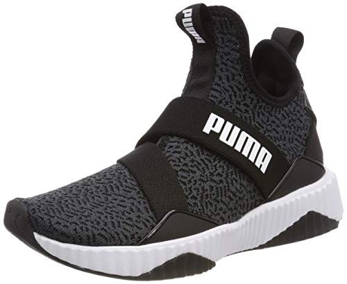 Puma Damen Defy Mid Anml WN's Fitnessschuhe, Schwarz Black White, 42 EU - Sneakers Mädchen Mid