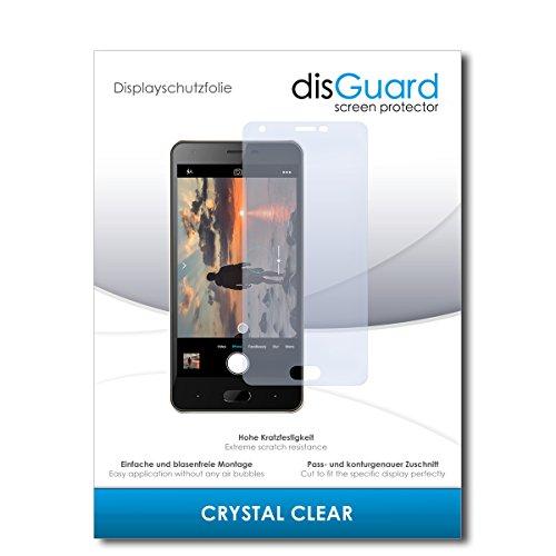 disGuard® Bildschirmschutzfolie [Crystal Clear] kompatibel mit Doogee X20 [2 Stück] Kristallklar, Transparent, Unsichtbar, Extrem Kratzfest, Anti-Fingerabdruck - Panzerglas Folie, Schutzfolie