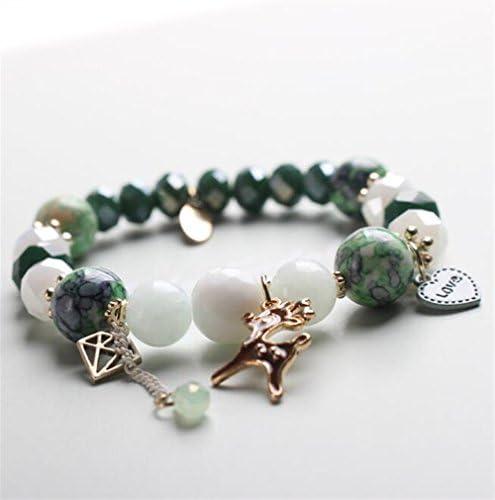 Visic Kits de Perles de Mode Bracelet d'orneHommes t Animal perlé Bricolage perlé Animal à la Main Bracelet (Vert) B07GWDPFM5 e5e897