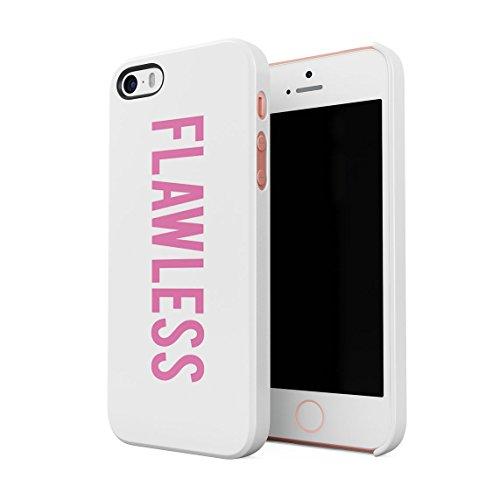 Rosa Pink Flawless Dünne Rückschale aus Hartplastik für iPhone 5 & iPhone 5s & iPhone SE Handy Hülle Schutzhülle Slim Fit Case Cover (Iphone 5 Queen Bee)
