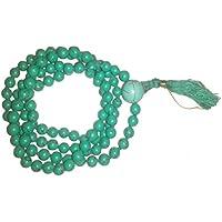 IndianStore4All Freundschaft Mala Perlen–6mm türkis Japa Mala Gebetskette handgeknotet Halskette Buddhistische... preisvergleich bei billige-tabletten.eu