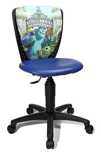Topstar Kinder Drehstuhl 70570JD68S High S`Cool 3 Bezug Disney Monsters Sitz blau (Disney Monster High)