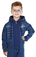 Aeronautica Militare Boys Tracksuit Indaco TU026JRF185-21053, old child size:6 years