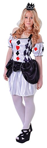 TEEN HARLEQUIN CARD JESTER FANCY DRESS (Teen Dress Fancy)