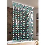 KLEINE WOLKE Duschrollo incl. Alu-Kassette »Mosaik blue«