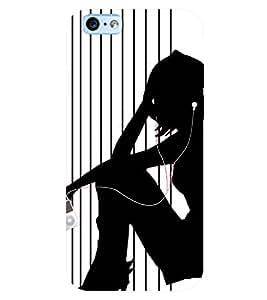 PRINTSWAG MUSIC GIRL Designer Back Cover Case for Apple Iphone 6s