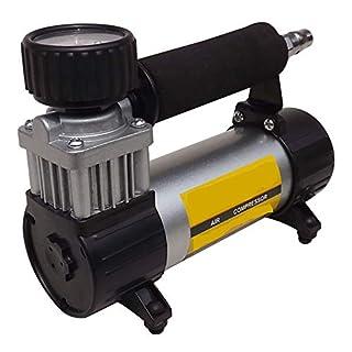 AWAKMER Tragbare Luftkompressorpumpe Digitale Autoreifenfülleranzeige Keine Abschaltautomatik für Überhitzungsschutz