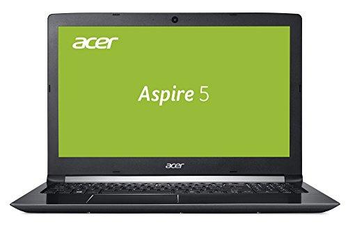 Acer Aspire 5 (A515-51G-533L) 39,6 cm (15,6 Zoll, Full-HD, matt) Multimedia Notebook (Intel Core i5-7200U, 8 GB RAM, 128 GB SSD + 1.000 GB HDD, NVIDIA GeForce 940MX, Win 10) schwarz