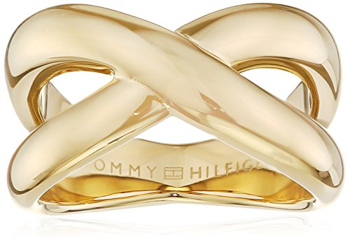 Tommy Hilfiger Jewelry Damen-Ring Classic Signature Edelstahl Gr. 54 (17.2) - 2700964C