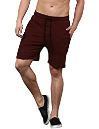 Skult By Shahid Kapoor Men's Cotton Shorts - B076BLHS8M