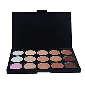 15 Colors Concealer ,Yistu Professional Luxury Foundation Makeup Palette