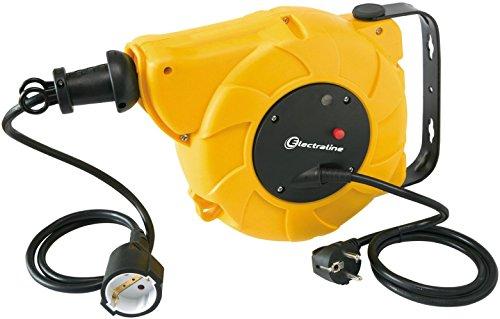 Electraline 100237 Enrollacables eléctrico automático