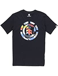 Element Cut Out Icon Tee Flint Black