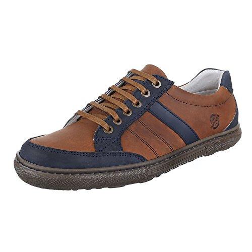 Ital-Design , Sneakers Basses homme Marron - Marron