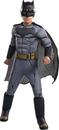 DC Comics - Disfraz de Batman Premium para niño, infantil 3-4 años (Rubie's 640170-S)