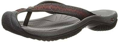 KEEN Men s Waimea H2 Sandal Raven/Burnt Orchre 7.5 D(M) US