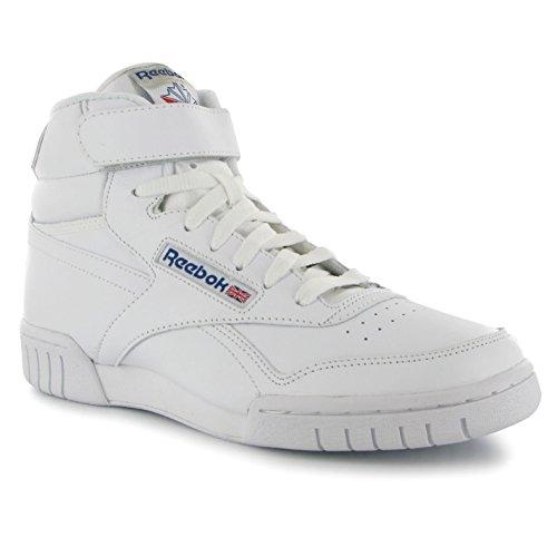 Hi Schuhe Turnschuhe (Reebok Exofit Herren Hi Top Schuhe Turnschuhe Weiß Sneakers Sportschuhe (UK10.5) (EU45) (US11.5))