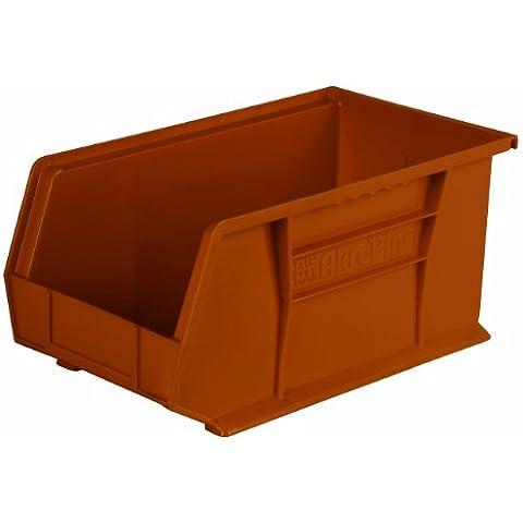 Akro-mils 30240RECYTC - 30240 recyc 15 pollici da 8 pollici da impilamento di plastica da 7 pollici appeso bin akro, terra cotta, 12 e minuscole - Plastica Terra Cotta