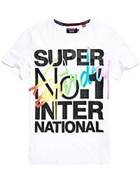 SuperdryINTERLOCKED INTERNATIONAL - T-Shirt print - optic