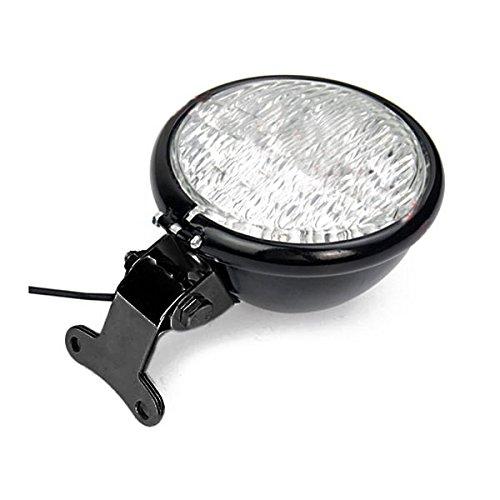 """WINOMO Motorrad Scheinwerfer 5.15 \""""30W LED Motorrad Retro Style Scheinwerfer Lampe"""