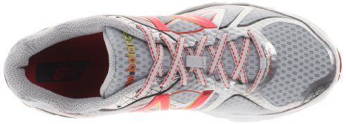 New Balance M1080 D V4, Chaussures de running homme Argent (Silver/Red (043))