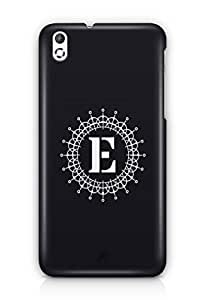 YuBingo Monogram with Beautifully Written letter E Mobile Case Back Cover for HTC Desire 816