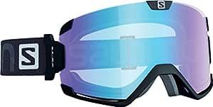 Salomon - Masques de ski snowboard - Cosmic afs - Lunettes Homme - Black Lo light l.blue - Lunettes de Soleil