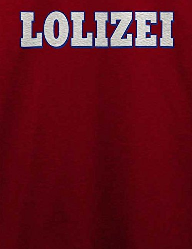 Lolizei T-Shirt Bordeaux