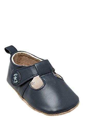 next Chaussures Style Salomé En Cuir (Maternelle Garçon) Standard Garçon Bébé Bleu