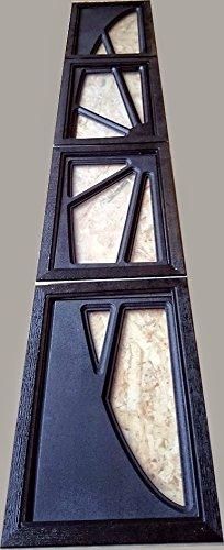 Fenster Sektionaltore,Lichtbänder Tore,Fenster für Tore Kunststofffenster braun