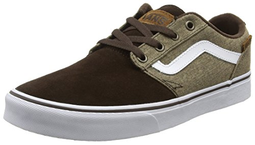 vans-chapman-stripe-sneakers-basses-homme-multicolore-mixed-brown-white-44-eu