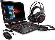 HP OMEN 15 Gaming Laptop Intel 6-Core i7-9750H 2.6GHz, 16GB, 256GB SSD, 15.6 FHD 144Hz, NVIDIA GTX 1660Ti 6GB,