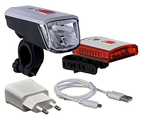 Büchel Batterieleuchtenset Batterieleuchtenset Batterieleuchtenset Vancouver mit Li-Ion Akku  40 Lux  USB Ladegerät... 30cf1f