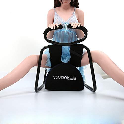 Halten Sie Möbel (WJPCR Multi-Chair Möbel, Position Enhancer Chair Neuheit Adult Toys - Position Assistance - Super langlebig und montagefreundlich One Size Halten Sie bis zu 300lbs (Schwarz))